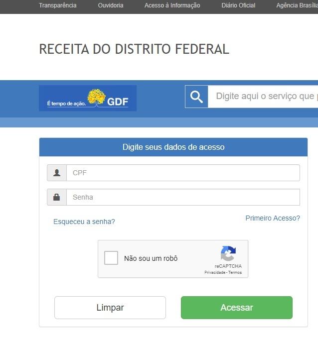 Consultar IPTU pelo CPF