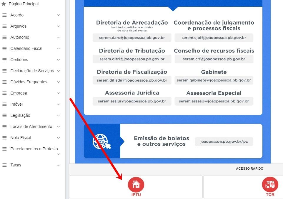 Prefeitura de João Pessoa IPTU