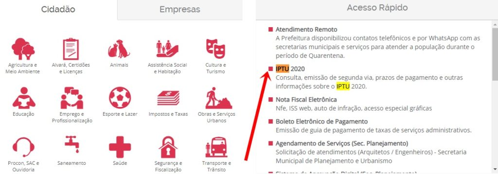 Prefeitura de Mogi das Cruzes IPTU