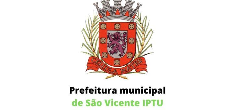 Prefeitura municipal de São Vicente IPTU