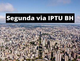 Segunda via IPTU BH