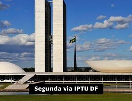 Segunda via IPTU DF